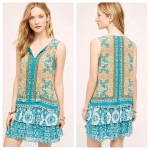 Anthropologie Hemant & Nandita Small Moana Dress